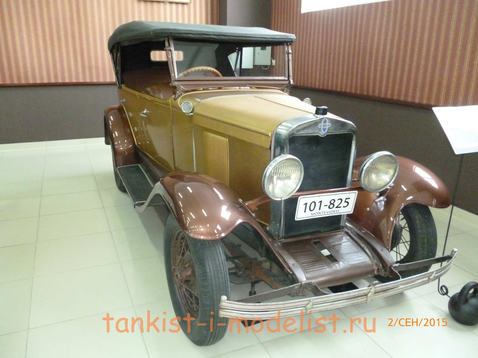 Chevrolet AC Open Tourer - 1929г.